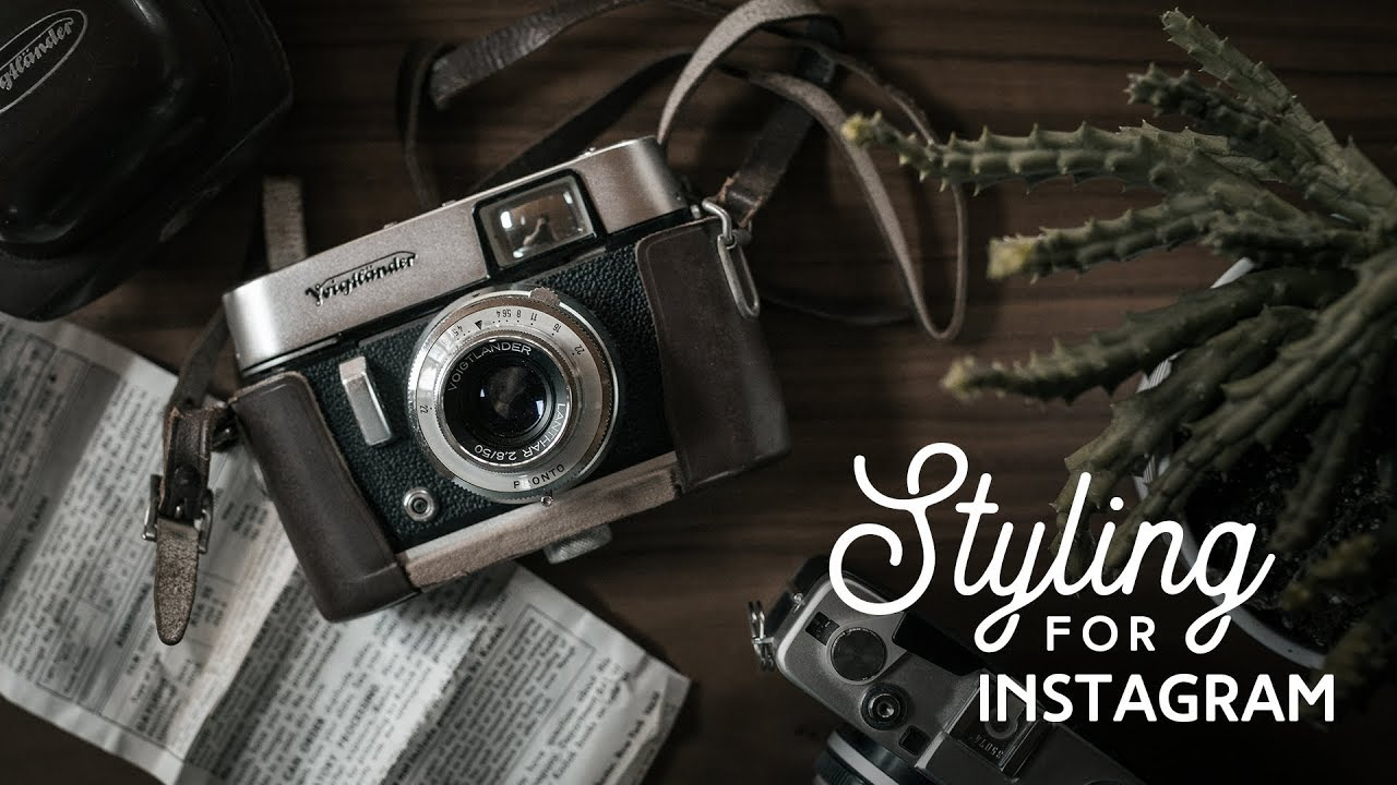 How To Style A Photo For Instagram + PHOTOGRAPHY CHALLENGE