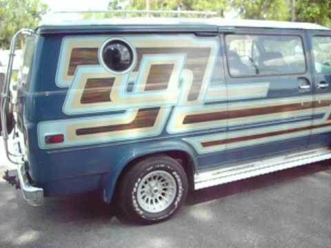 old school custom conversion vans