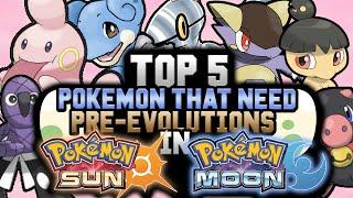 NEW Pokémon Pre-Evolutions In Pokémon Sun And Moon!