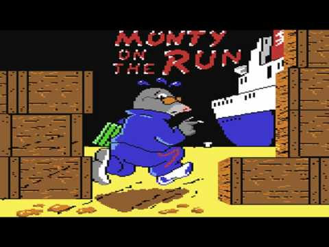 Rob Hubbard - Monty on the Run Theme [C64]