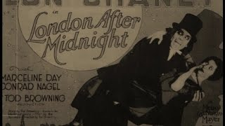 LONDON AFTER MIDNIGHT (Omaggio musicale a Tod Browning & Lon Chaney by Joe Natta)