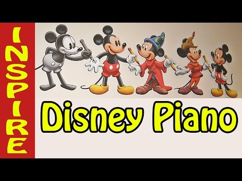 Disney piano music collection 3 hour long for studying relaxing piano