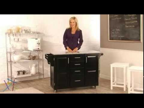 Charming Home Styles Design Your Own Kitchen Island   Product Review Video