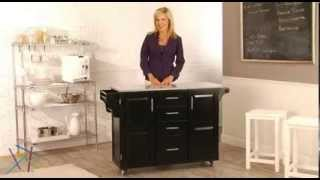 Home Styles Design Your Own Kitchen Island - Product Review Video