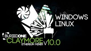 How To Mine Ethereum With NEW Claymore Miner V10.0