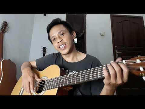Download Cara Memainkan Gitar Melodi Baim ft Rendy Pandugo Halusinasi | Channel Amburadul Mp4 baru