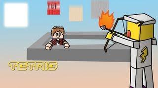 "Hammy Draws-""Tetris"" Minecraft Minigame Fanart"