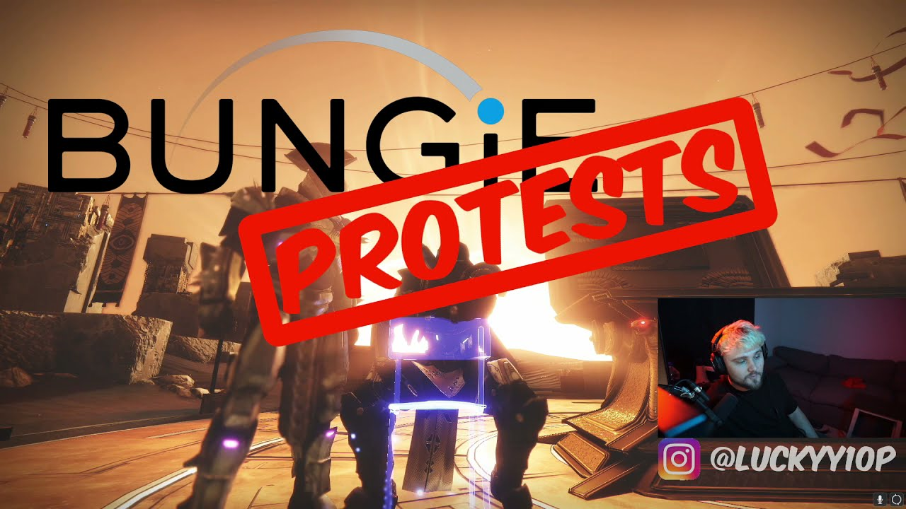 Bungie PROTESTS Activision and Blizzard!