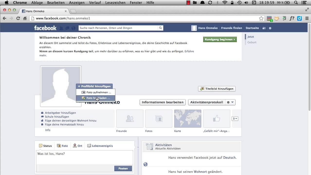Ändern zu verlieren likes facebook ohne profilbild Facebook Titelbild