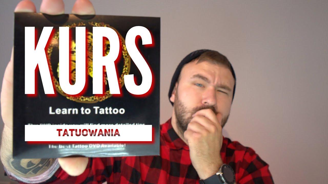 Kurs tatuowania na DVD , zobaczmy co tam jest .