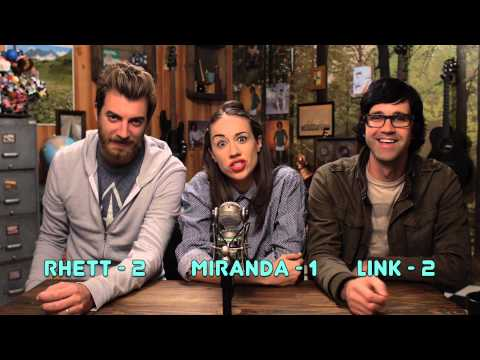 AMAZING INTERVIEW GAME WITH RHETT & LINK!