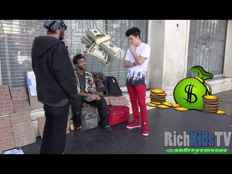 Giving out $30,000 CASH to the Homeless!!