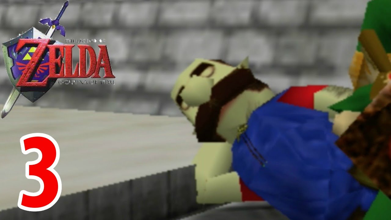 mario in ocarina of time