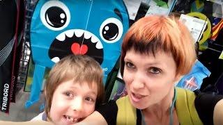 Капуки Live. Видео шоппинг и фестиваль воздушных змеев. Маша, Адриан и Арсений(Хотели снять видео про воздушных змеев и показать, как воздушный змей летит в небо. НО получилось видео..., 2016-05-19T16:16:18.000Z)