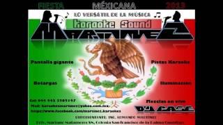 KARAOKE SOUND MARTINEZ FIESTA MEXICANA
