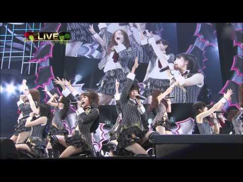 【HD】AKB48 Xmasライブ ポニーテールとシュシュ 2011.12.24 Ponytail to Shushu
