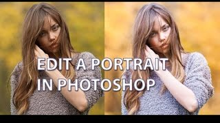 False Tone Colour Tutorial - Photoshop Portrait Edit