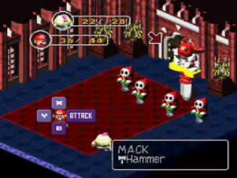Vamos a jugar Super Mario RPG Parte 6 - La primera estrella