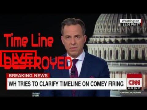 Jake Tapper DESTROYS President Trumps Timeline for firing Comey #SOL