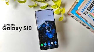 Samsung Galaxy S10 - Size Comparison
