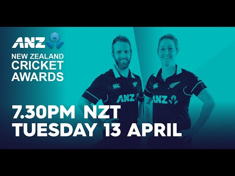 Download FULL LIVE SHOW - ANZ New Zealand Cricket Awards 2020/21
