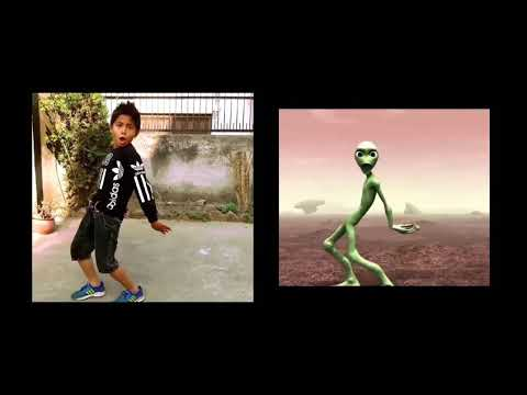 Kisd, vs alien Dance   ,  challenge