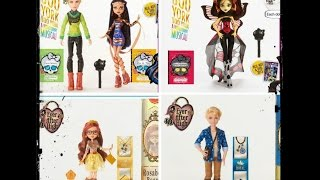 Toy Talk 2015 EAH and MH - Freak Du Chic,Boo York,Way To Wonderland,Sugar Coated,Enchanted Picnic