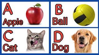 a for apple b for ball c for cat d for doll if i learn my abc | abcd phonics song abcd phonics song