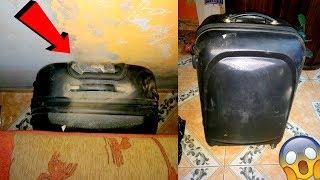 Una mujer ordenaba su nueva casa y encontró esta extraña maleta ¡NO CREERÁS LO QUE HABÍA DENTRO!