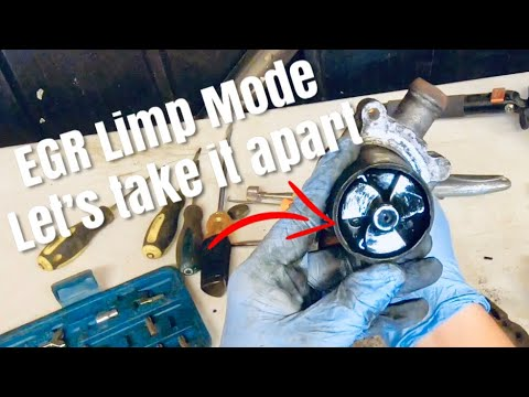 Taking apart EGR, let's see why this one failed T1N Mercedes Sprinter used parts