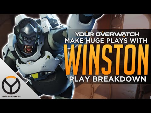 Overwatch: How To Winston - Impact Frags & Stall Tactics