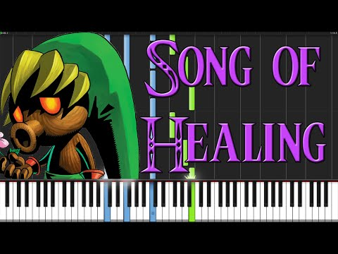 Song of Healing - The Legend of Zelda: Majora's Mask [Piano Tutorial] (Synthesia)