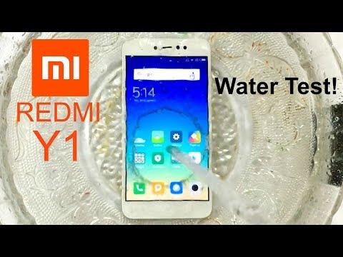 Xiaomi Redmi Y1 Water Test! Actually Waterproof?