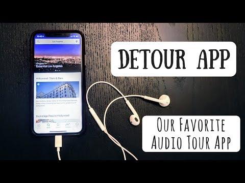 Detour App | Our Favorite Audio Tour App + Free Tours Until 5/31/2018)