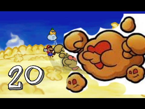 Paper Mario - Guide:Party member Lakilester (or Spike) and boss Huff and puff (part 20)