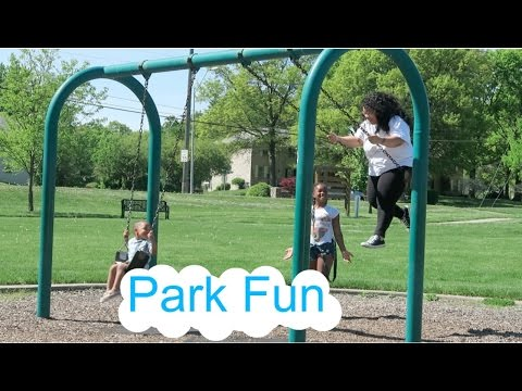 These girls talked me into it, Park fun, |vlog #66