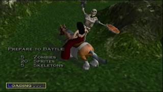 Heroes of Might and Magic Quest for the Dragon Bone Staff Map Theme 1 Animatic (2001, 3DO/NWC)
