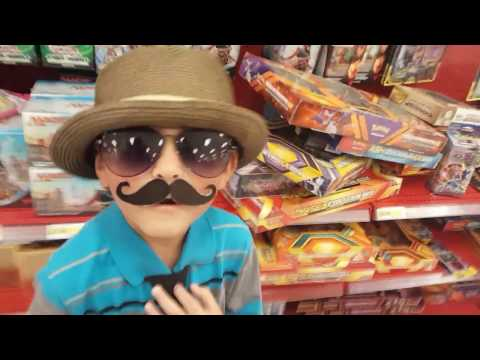 HUNTING POKEMON Cards With CARL at TARGET! We Find SUN and MOON TOYS! MINECRAFT & MARIO CARDS! PT 1.