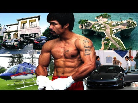 Manny Pacquiao's Lifestyle ★ 2018