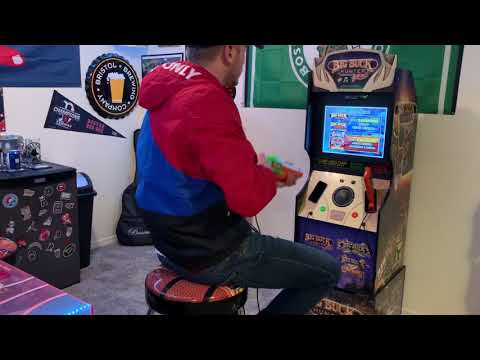 Big Buck Hunter Arcade1up REVIEW and GAMEPLAY from FUN4AVA