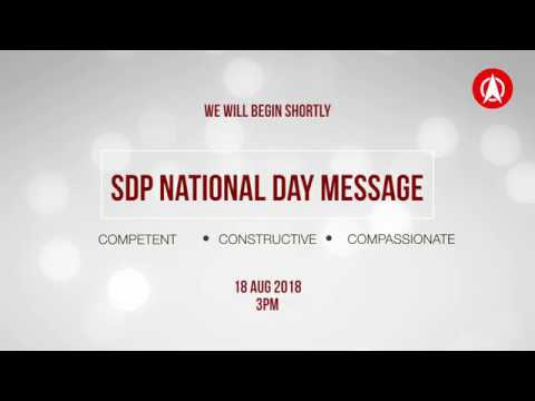 SDP National Day Message 2018