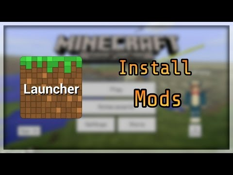 How to Install Mods on Blocklauncher - 1.0 Minecraft PE (Pocket Edition)