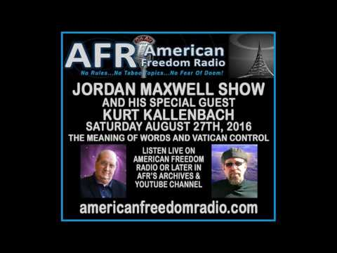 We Are Owned By The Use Of Words & Vatican Law. Jordan Maxwell With Kurt Kallenbach