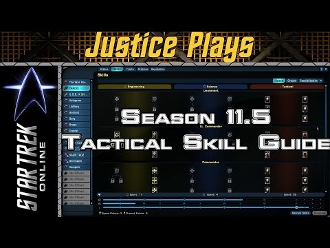 Star Trek Online - Season 11.5 - Tactical Space Skill Revamp Guide (How to get at least 45K DPS)