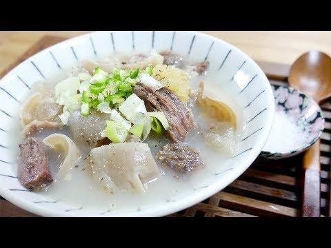 도가니탕 ( Ox Knee Soup )