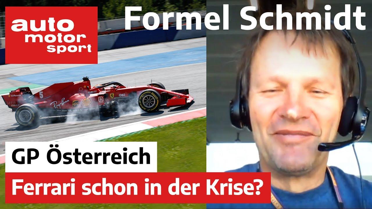 Formel Schmidt zum GP Österreich 2020 | auto motor und sport