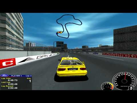 Ford Racing 2001 Gameplay PC HD