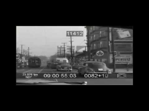 1951 Ottawa - Rideau Street  Car Ride