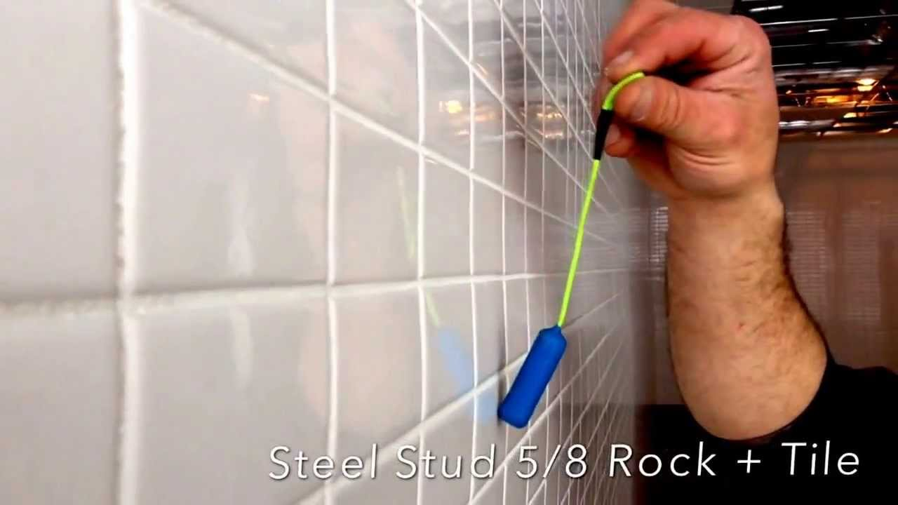 Stud Finder Through Tile