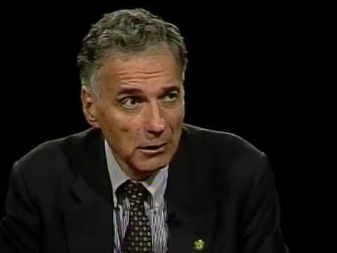 Ralph Nader interview on Charlie Rose (2000)